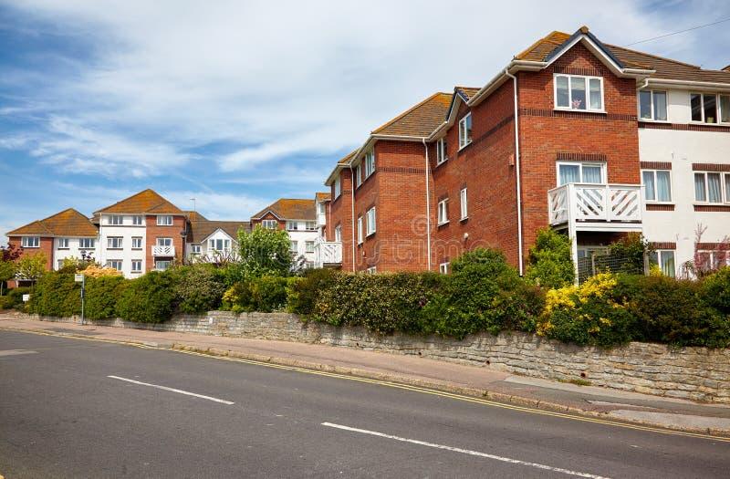 De straat van Lyme REGIS West-Dorset engeland royalty-vrije stock afbeeldingen