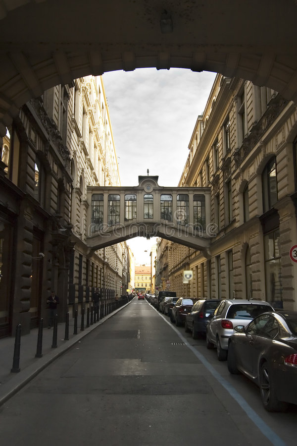 De Straat van Nekazanka stock afbeelding