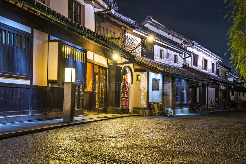 De Straat van Okayama royalty-vrije stock foto's