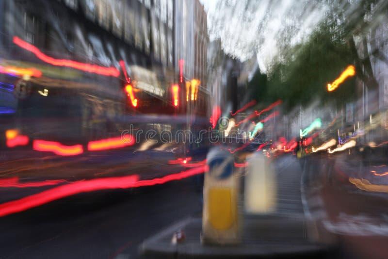De straat van Oxford royalty-vrije stock afbeeldingen