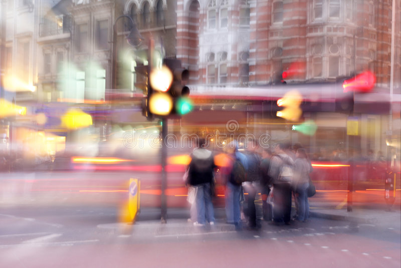De straat van Oxford stock fotografie