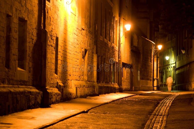 De Straat van Oxford stock afbeeldingen