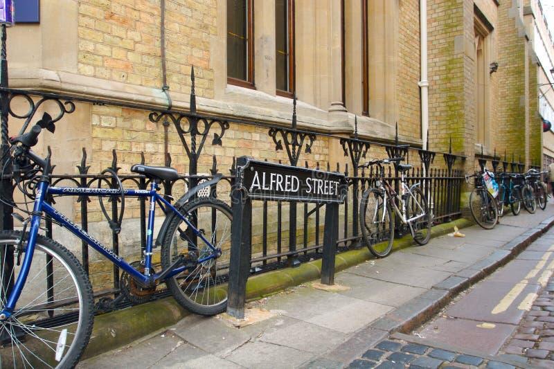 De Straat van Oxford royalty-vrije stock afbeelding