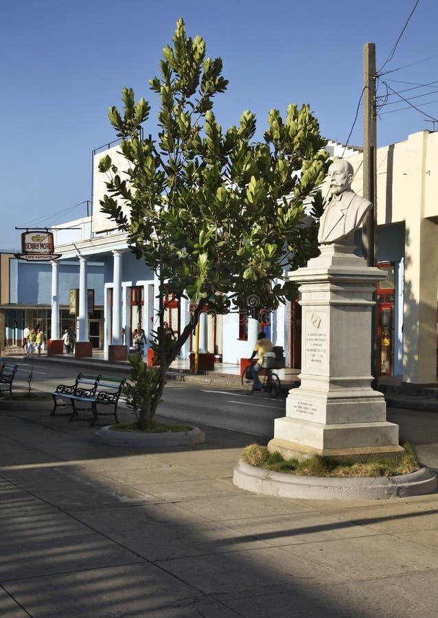 De straat van Paseogr Prado in Cienfuegos cuba royalty-vrije stock fotografie