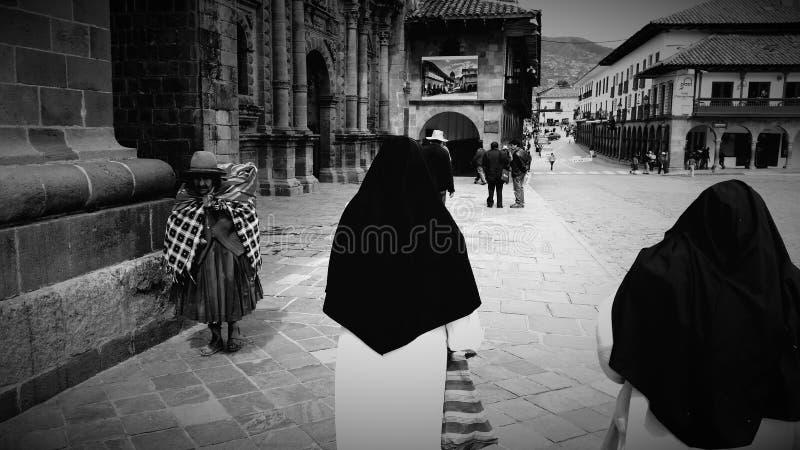 De straat van Peru stock afbeelding