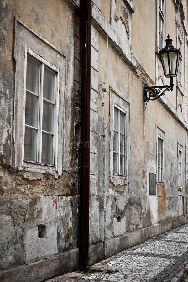 De straat van Praag royalty-vrije stock foto's