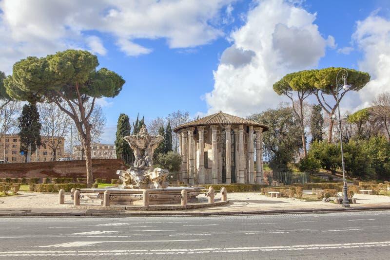De straat van Rome stock afbeeldingen