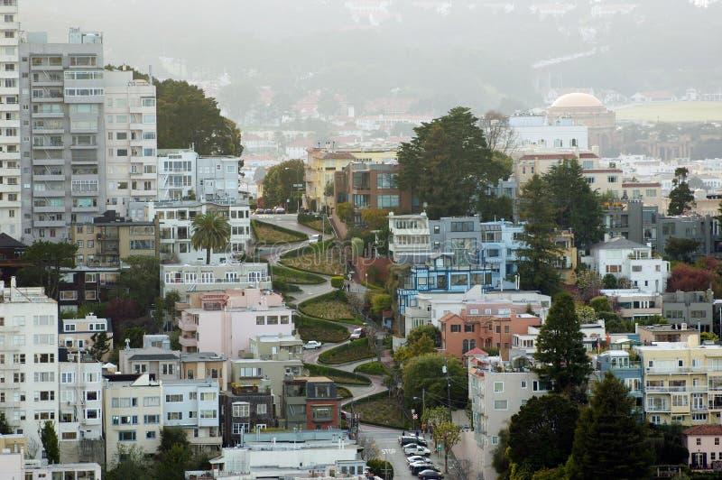 De Straat van San Francisco Lombardo royalty-vrije stock fotografie