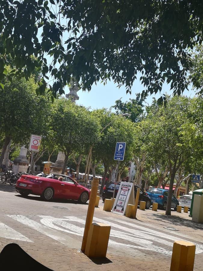 De straat van Sevilla stock fotografie