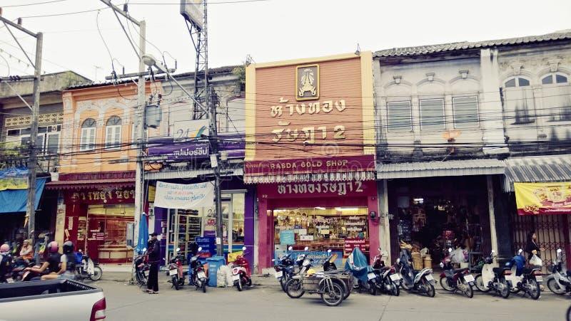 De Straat van Thailand stock fotografie