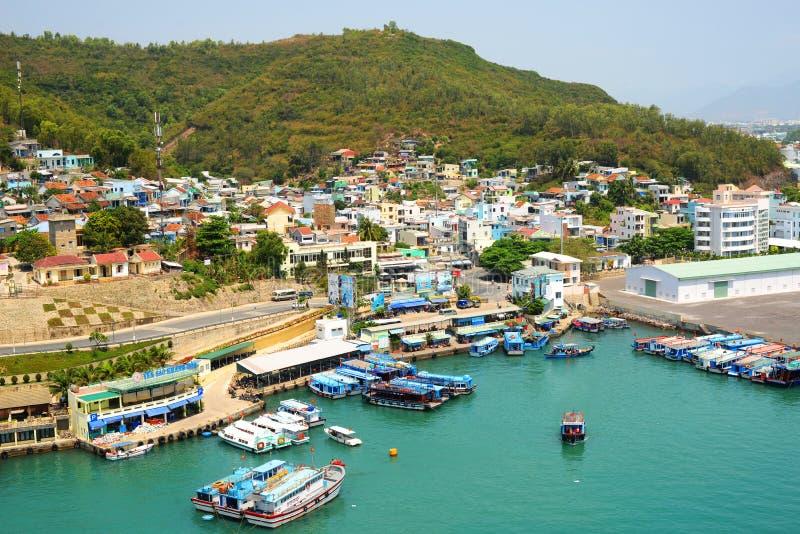 De Straat van Vietnam Nha Trang stock afbeelding