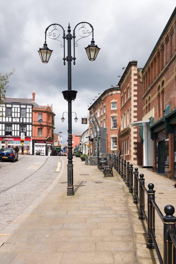 De Straat van Wrexhamyorke stock foto