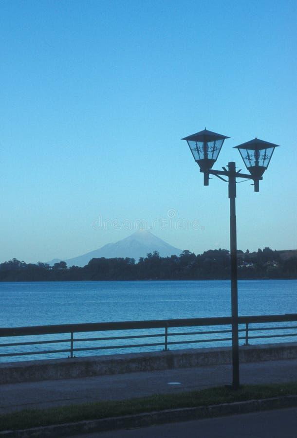 De straatlantaarn van Varas van Puerto royalty-vrije stock foto