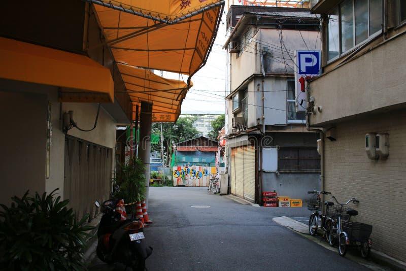 de straatmening van Hiroshima stock afbeeldingen