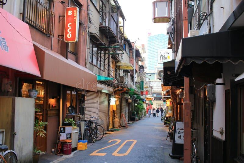 de straatmening van Hiroshima royalty-vrije stock fotografie