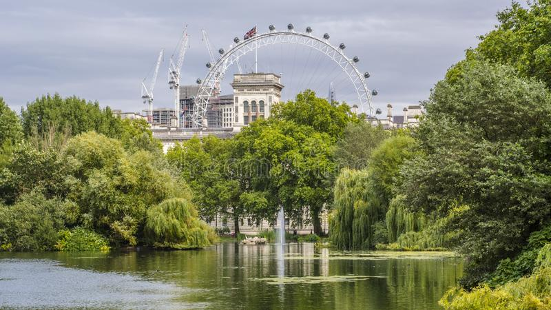 De straatmening van Londen royalty-vrije stock foto