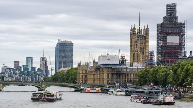De straatmening van Londen royalty-vrije stock fotografie