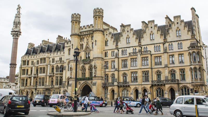 De straatmening van Londen royalty-vrije stock foto's