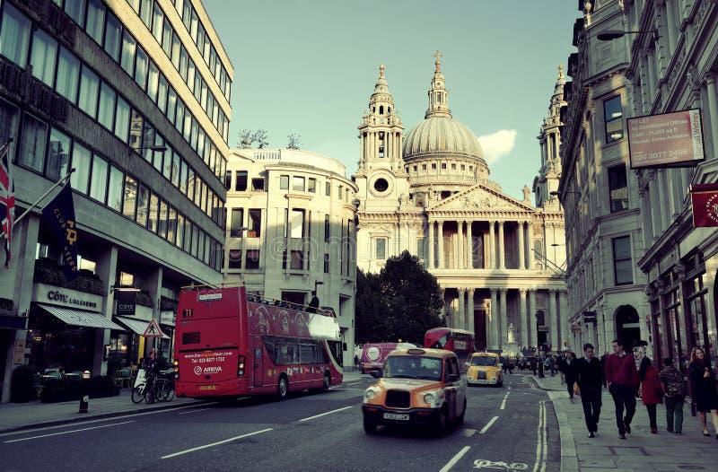 De straatmening van Londen stock foto's