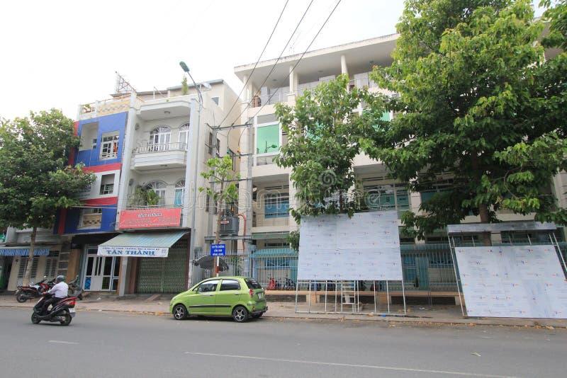 De straatmening van Nhatrang royalty-vrije stock foto's