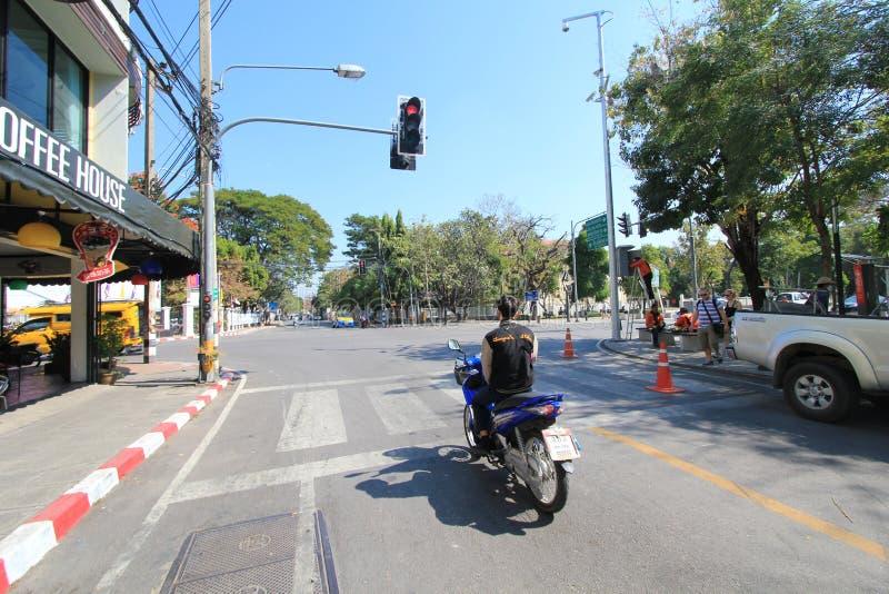 Download De Straatmening Van Thailand Chiang Mai Redactionele Stock Foto - Afbeelding bestaande uit cultureel, straat: 54080403