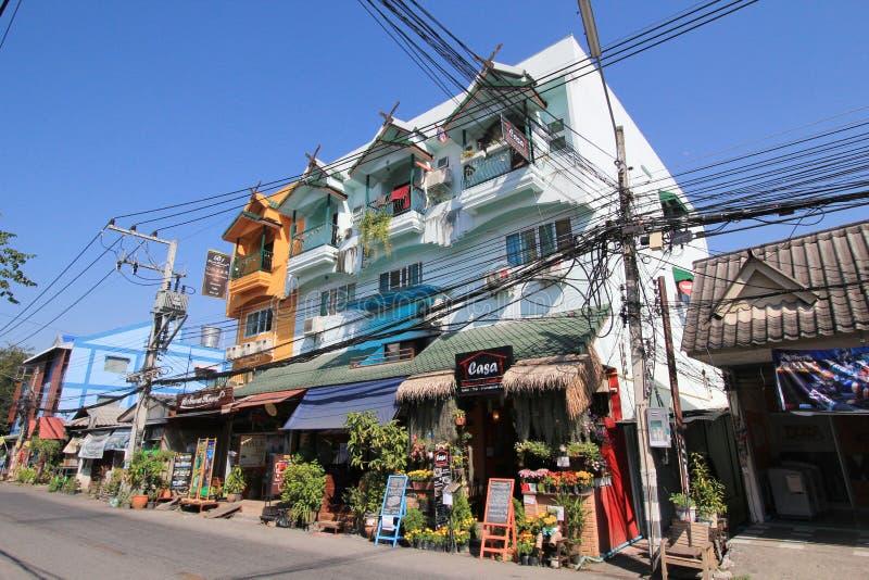 Download De Straatmening Van Thailand Chiang Mai Redactionele Foto - Afbeelding bestaande uit largest, beroemd: 54080631