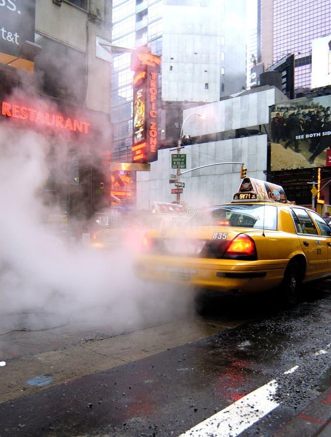 De straatscène van Manhattan stock foto