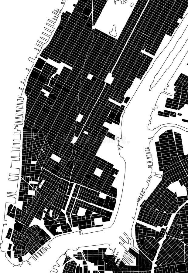 De straattextuur van New York royalty-vrije illustratie