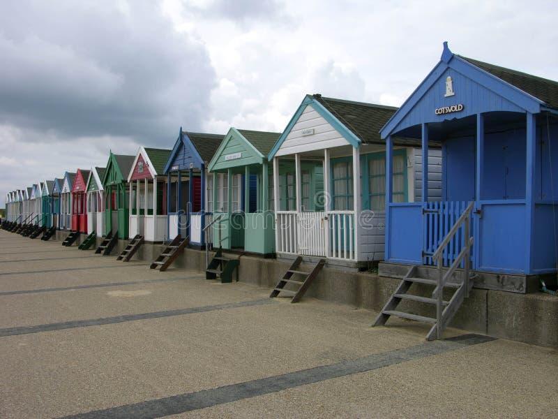 De strand-Hut van Cotswold stock afbeeldingen