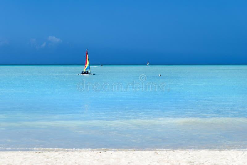 De Stranden van het Antiguaeiland stock fotografie