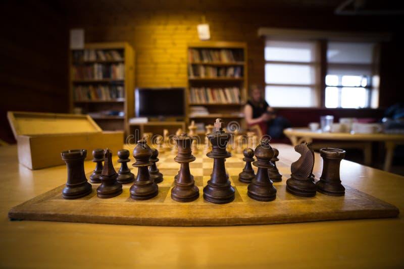 De strategie van het schaak royalty-vrije stock foto