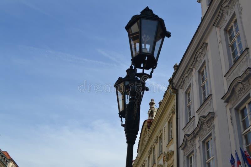 De straten ‹â€ ‹van de de architectuurstad †van de stad stock afbeelding