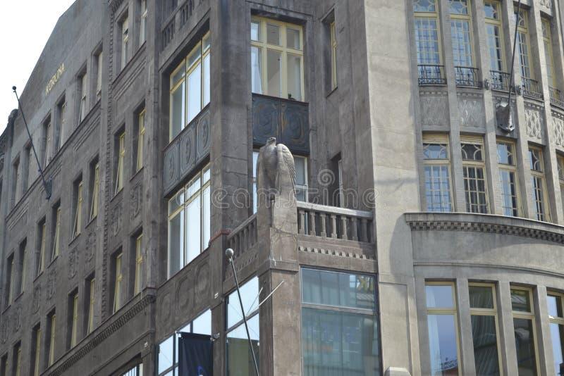 De straten ‹â€ ‹van de de architectuurstad †van de stad royalty-vrije stock foto's