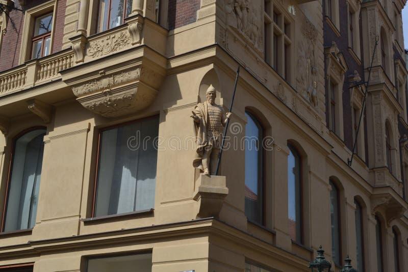 De straten ‹â€ ‹van de de architectuurstad †van de stad stock foto's