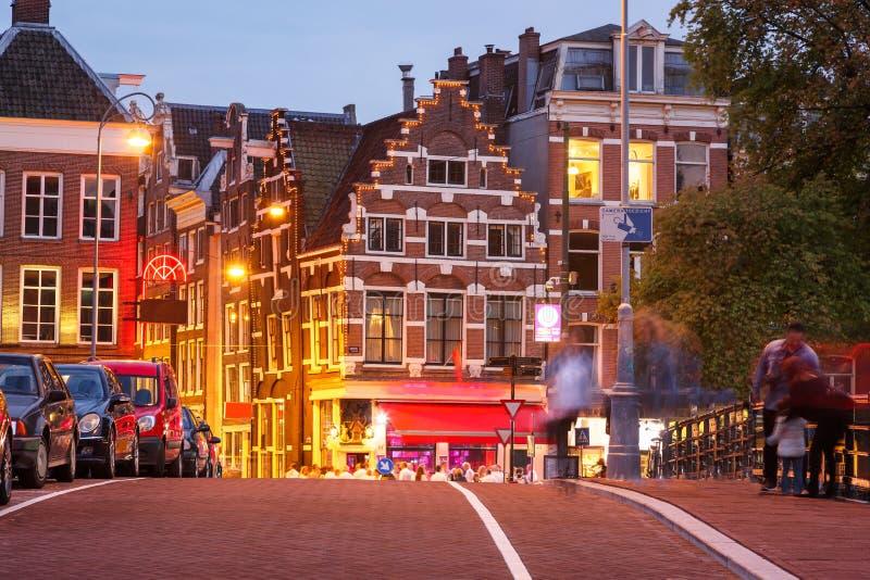 De Straten Holland Netherland van Amsterdam royalty-vrije stock foto
