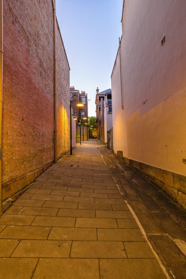 De straten van de Rotsen, Sydney stock afbeeldingen