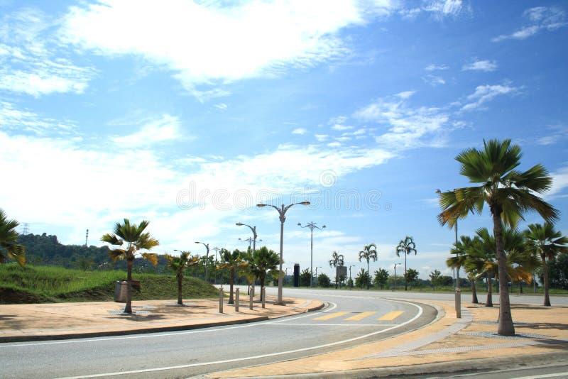 De straten van Kualalumpur royalty-vrije stock afbeelding