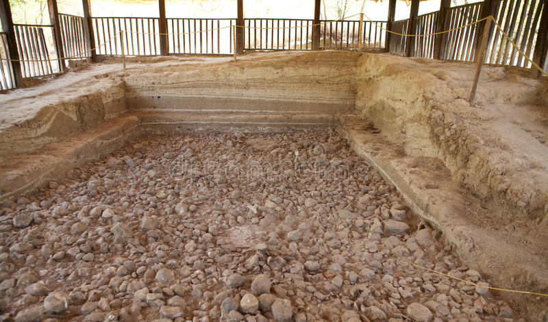 Download De Stratigrafie Van Historische Plaats Stock Foto - Afbeelding bestaande uit afrika, geology: 29505774