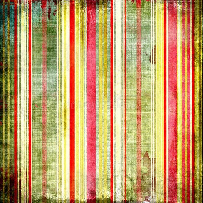 De strepen van Grunge royalty-vrije illustratie