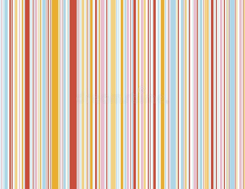 De strepen van het Suikergoed van de zomer royalty-vrije illustratie