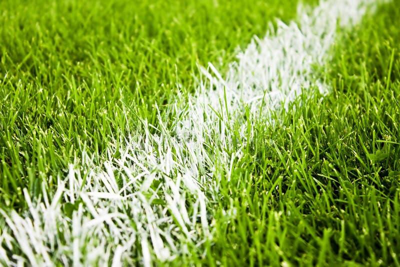 De strepen van het voetbal of van de voetbal stock foto
