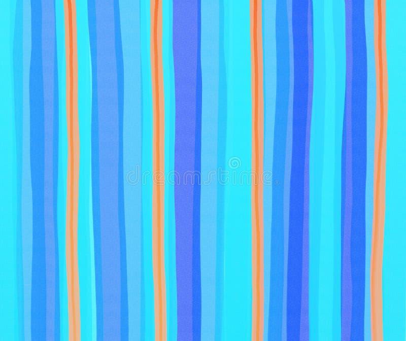 De strepen van Watercolour royalty-vrije illustratie