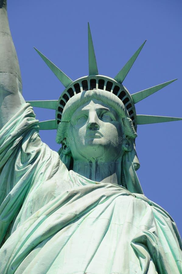 De strijden van dame Liberty voor Vrijheid stock afbeeldingen