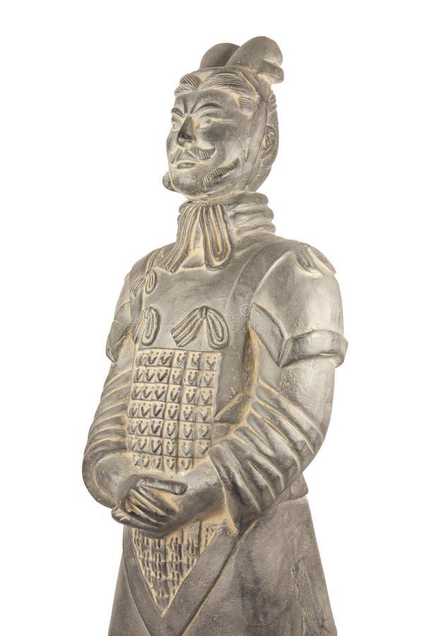 De Strijder van het terracotta royalty-vrije stock afbeelding