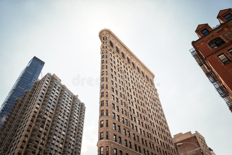 De strijkijzerbouw bij NYC stock foto