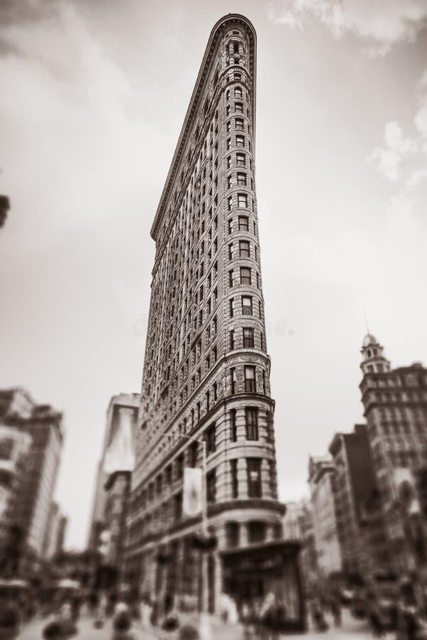 De strijkijzerbouw in NYC royalty-vrije stock foto's
