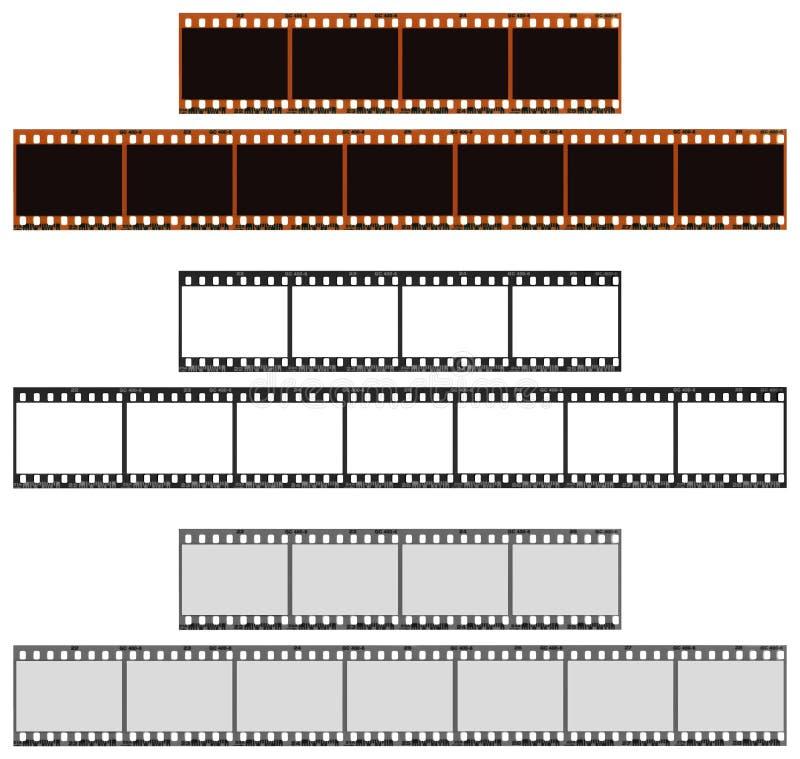 De Stroken van de film royalty-vrije stock afbeelding