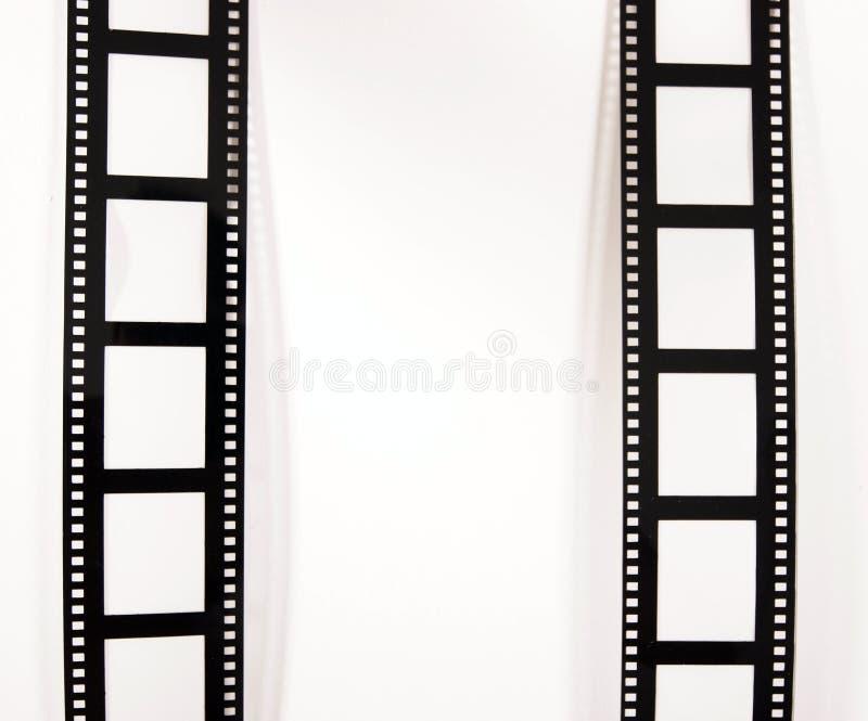 De stroken van de film stock foto's