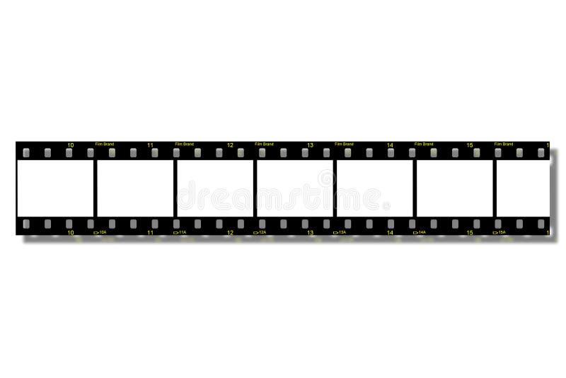 De Stroken van de film (de Weg van de Klem) vector illustratie