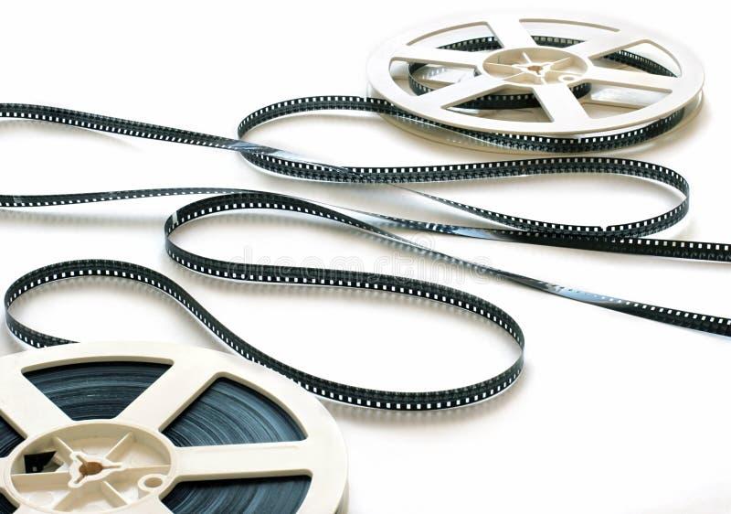 de strook van de 8 mmfilm stock foto